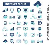 Internet Cloud Icon  Clouding ...