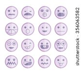 emoticon icons | Shutterstock .eps vector #356063582