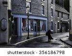 victorian street scene | Shutterstock . vector #356186798