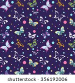 colorful seamless background... | Shutterstock . vector #356192006