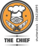 chief cook vector illustration  | Shutterstock .eps vector #356218895