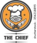 chief cook vector illustration  | Shutterstock .eps vector #356218895