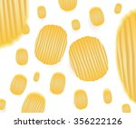 Vector Falling Chips Pattern...