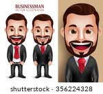 3d realistic professional... | Shutterstock .eps vector #356224328
