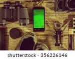 vintage  closeup  vintage. set... | Shutterstock . vector #356226146