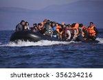 lesbos island  greece  november ... | Shutterstock . vector #356234216