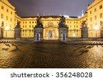 Prague Castle  Hradcany Square. ...