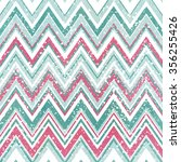 chevron pattern with zig zag... | Shutterstock . vector #356255426