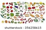 fresh ingredients   vegetables  ... | Shutterstock .eps vector #356258615