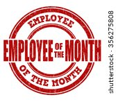 employee of the month grunge... | Shutterstock .eps vector #356275808