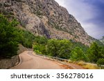 mountain landscape with the... | Shutterstock . vector #356278016