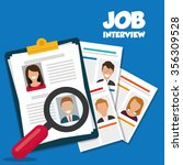 search and find employment...   Shutterstock .eps vector #356309528