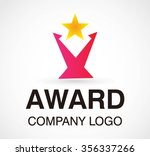 achievement award of star... | Shutterstock .eps vector #356337266