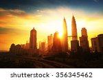 Sunrise In Kuala Lumpur With...