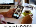 chiang mai thailand dec 30  ... | Shutterstock . vector #356381306