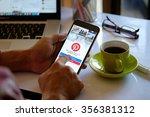 chiang mai thailand dec 30  ... | Shutterstock . vector #356381312