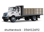 flatbed truck available eps 10... | Shutterstock .eps vector #356412692