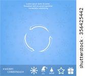 circular arrows vector icon   Shutterstock .eps vector #356425442