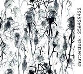 watercolor monochrome imprints... | Shutterstock . vector #356429432