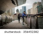 preparing for the run ahead.... | Shutterstock . vector #356452382