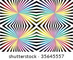 colorful abstraction | Shutterstock .eps vector #35645557