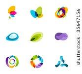 design elements or logotype... | Shutterstock .eps vector #35647156