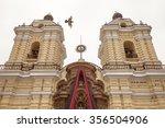 monastery of san francisco in... | Shutterstock . vector #356504906