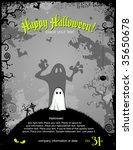 halloween party invitation or... | Shutterstock .eps vector #35650678