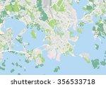 vector city map of helsinki ... | Shutterstock .eps vector #356533718