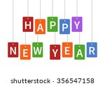 Happy New Year Colorful...
