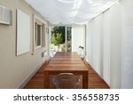 architecture  veranda with... | Shutterstock . vector #356558735