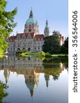 Stock photo new town hall building rathaus in hannover germany 356564006