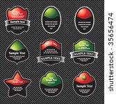 set of design elements | Shutterstock .eps vector #35656474