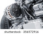 car power generator | Shutterstock . vector #356572916