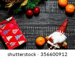christmas background with... | Shutterstock . vector #356600912