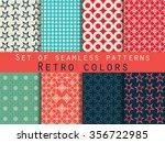 set of seamless patterns....   Shutterstock .eps vector #356722985