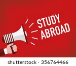 study abroad | Shutterstock .eps vector #356764466