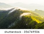 Morning Mist With Mountain