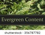 Evergreen Content Message ...