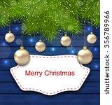 illustration holiday greeting... | Shutterstock . vector #356789966