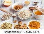 grain free oat free paleo... | Shutterstock . vector #356824376