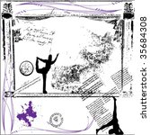 grunge vector background | Shutterstock .eps vector #35684308
