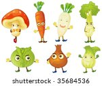 illustration of various objects ... | Shutterstock .eps vector #35684536
