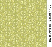 valentine's day pattern.... | Shutterstock .eps vector #356854406