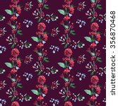 raster seamless pattern with... | Shutterstock . vector #356870468