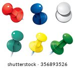 vector illustration of colored... | Shutterstock .eps vector #356893526