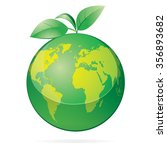 vector illustration of green...   Shutterstock .eps vector #356893682