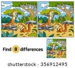 ground squirrel  xerus  | Shutterstock .eps vector #356912495