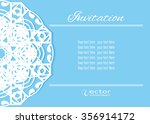 decorative abstract background  ... | Shutterstock .eps vector #356914172