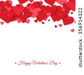 happy valentines day and... | Shutterstock .eps vector #356914322